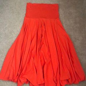 JCrew Strapless Knit Dress